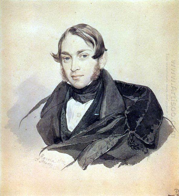 Portrait Of S A Sobolevsky 1