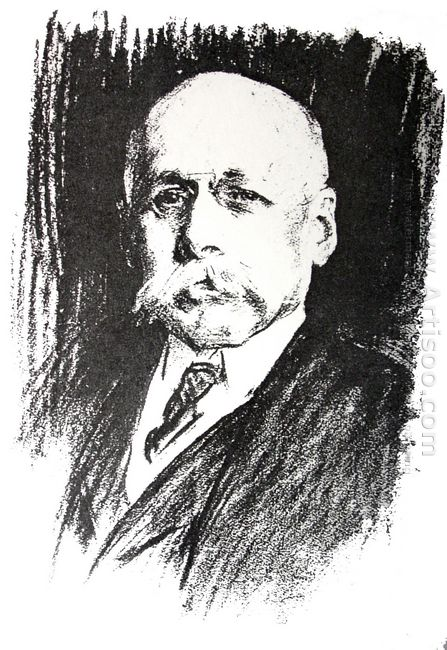 Portrait Of Sir Max Michaelis 1925