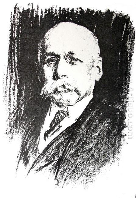 Portrait Of Sir Max Michaelis 1925