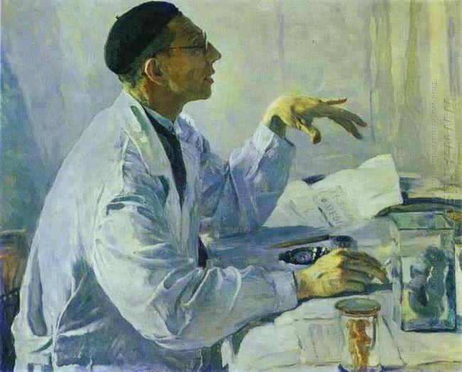 Portrait Of S S Yudin 1935