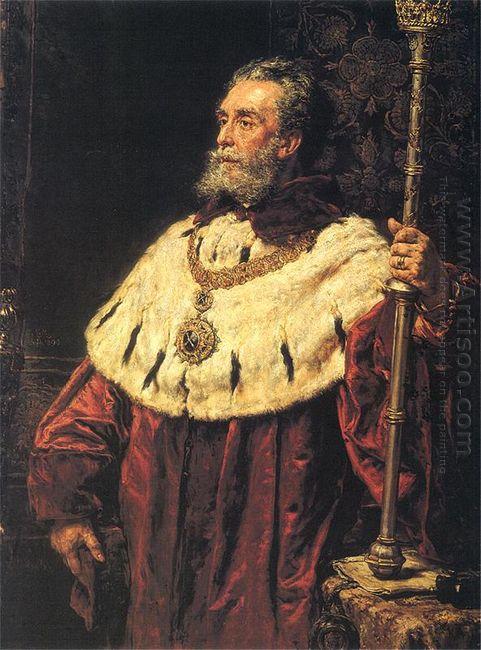 Portrait Of Stanis?82Aw Tarnowski 1890