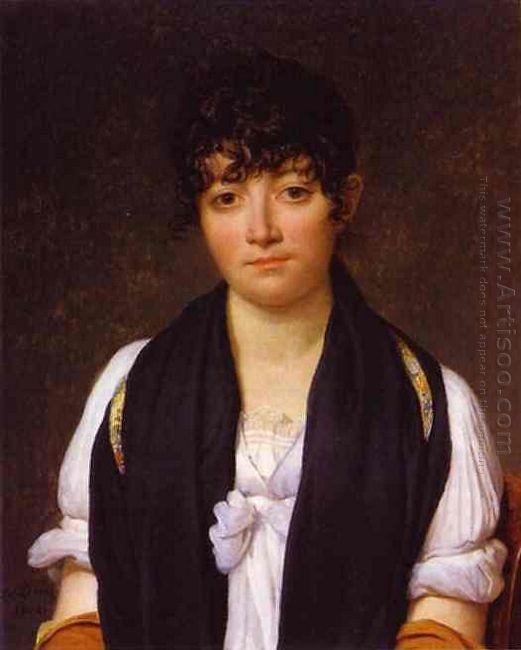 Portrait Of Suzanne Le Pelletier De Saint Fargeau 1804