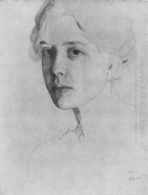 Portrait Of S Zvantseva