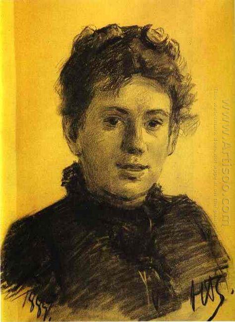 Portrait Of Tatyana Tolstaya Leo Tolstoy S Daughter