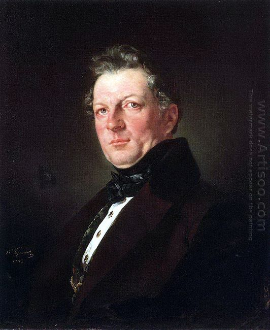 Portrait Of The Architect A Bolotov