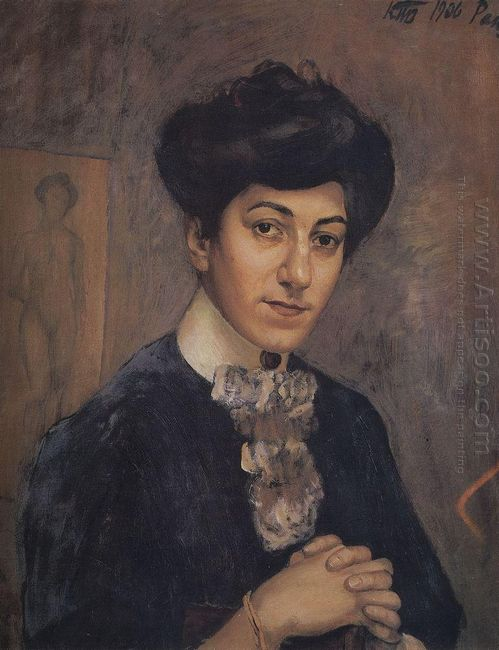 Portrait Of The Artist S Wife 1906
