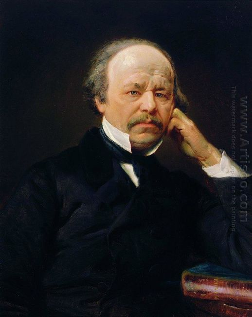 Portrait Of The Composer Aleksandr Sergeyvich Dargomyzhsky
