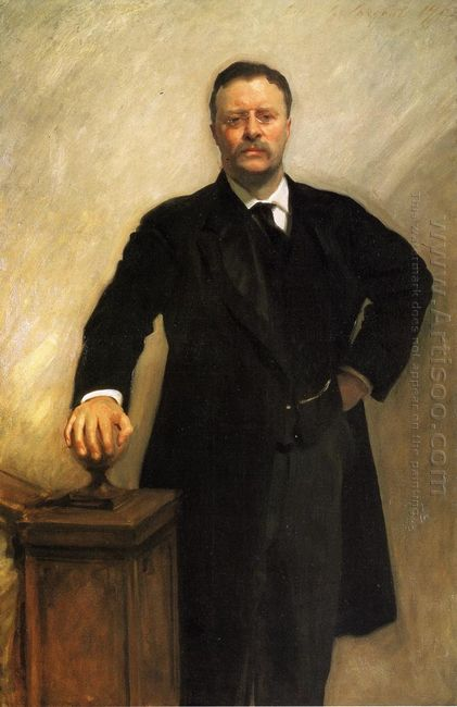 Portrait Of Theodore Roosevelt 1903