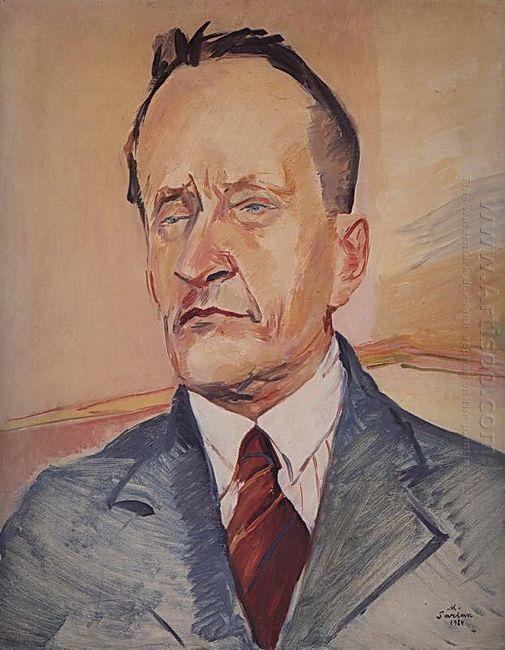 Portrait Of The Pianist Konstantin Igumnov 1934