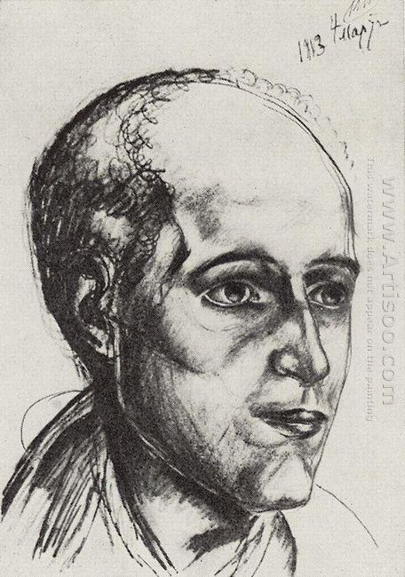 Portrait Of The Poet 1913