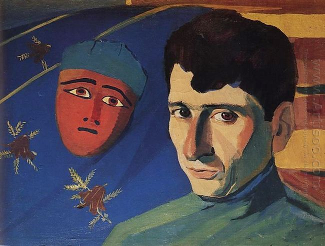 Portrait Of The Poet Yeghishe Charents 1923