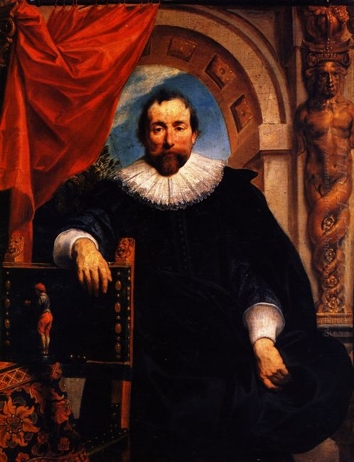 Portrait Of The Rogier Witer 1635