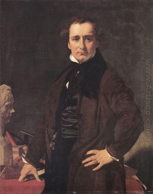 Portrait Of The Sculptor Lorenzo Bartolini