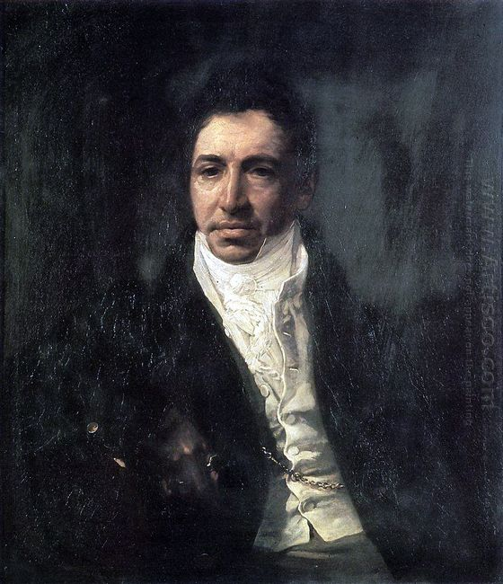Portrait Of The Secretary Of State Piotr Kikin 1822