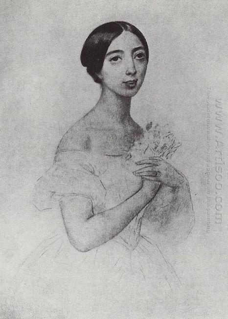 Portrait Of The Singer Pauline Viardot Garcia
