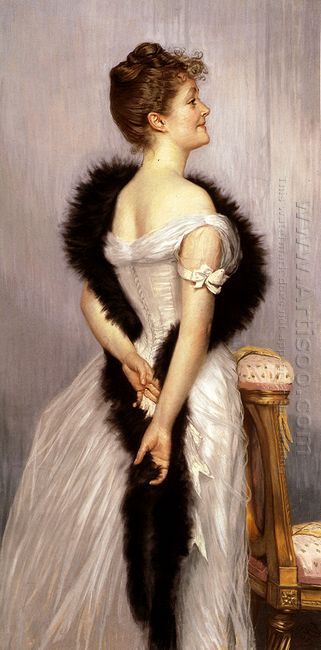 Portrait Of The Vicomtesse De Montmorand 1889