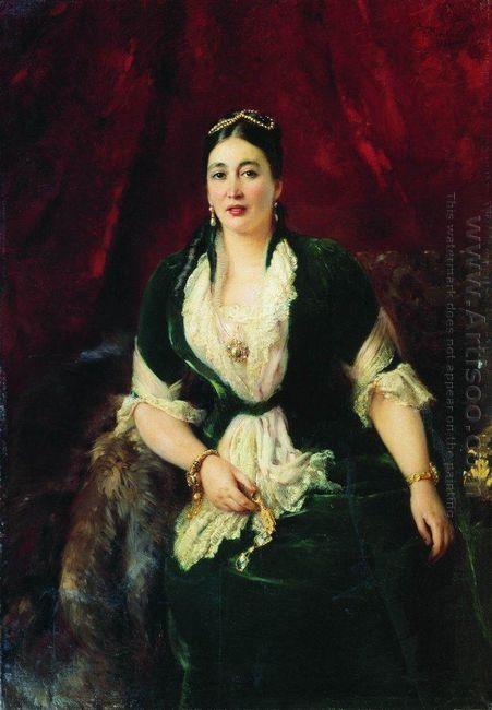 Portrait Of Tradeswoman E Rastorgueva