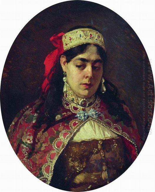 Portrait Of Tsarevna Sofia