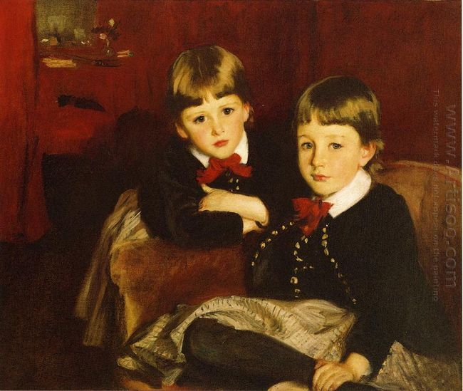 Portrait Of Two Children 1887