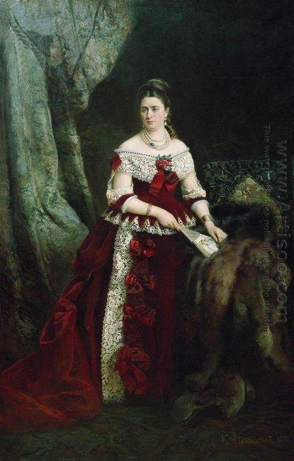 Portrait Of Vera Zubova