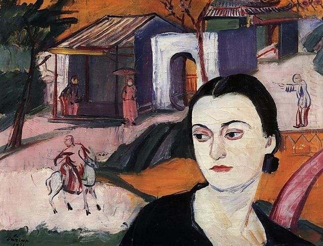Portrait Of Victoria Alabyan 1931