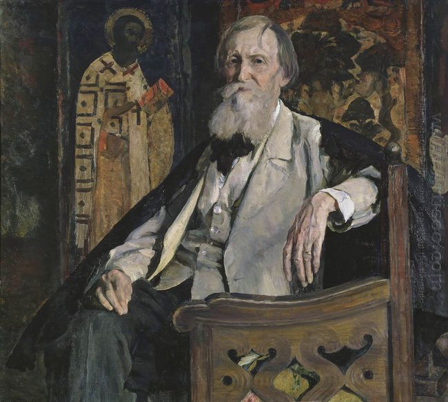 Portrait Of Victor Vasnetsov 1925