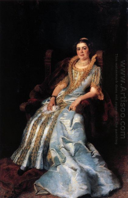 Portrait Of V Morozova