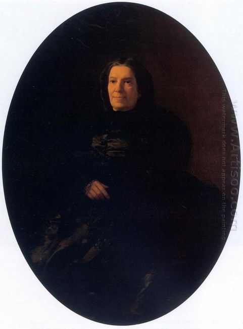 Portrait Of V N Rostovtseva