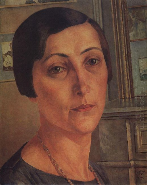 Portrait S N Andronikova 1925