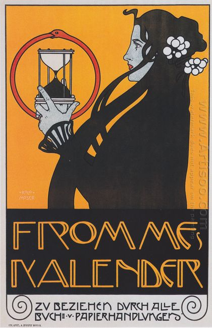 Poster For Fromme S Calendar 1899