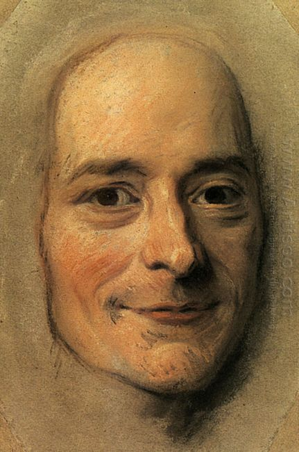 Preparation To The Portrait Of Voltaire