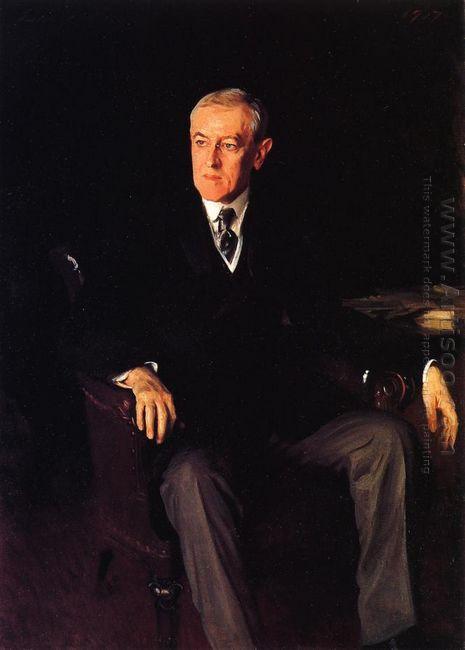 President Woodrow Wilson 1917