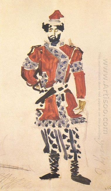 Prince S Huntsman Costume Design For The Opera The Enchantress 1