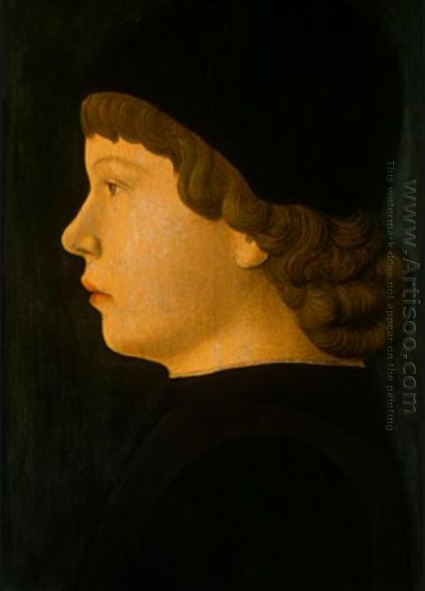 Profile Portrait Of A Boy