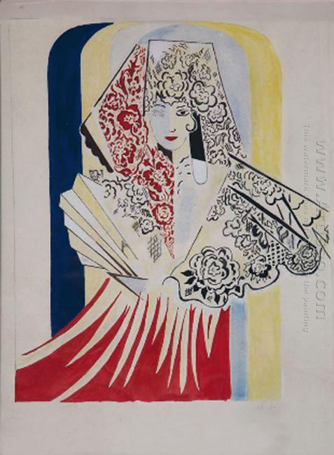 Project Poster For The Ballet By Manuel De Falla El Amor Brujo