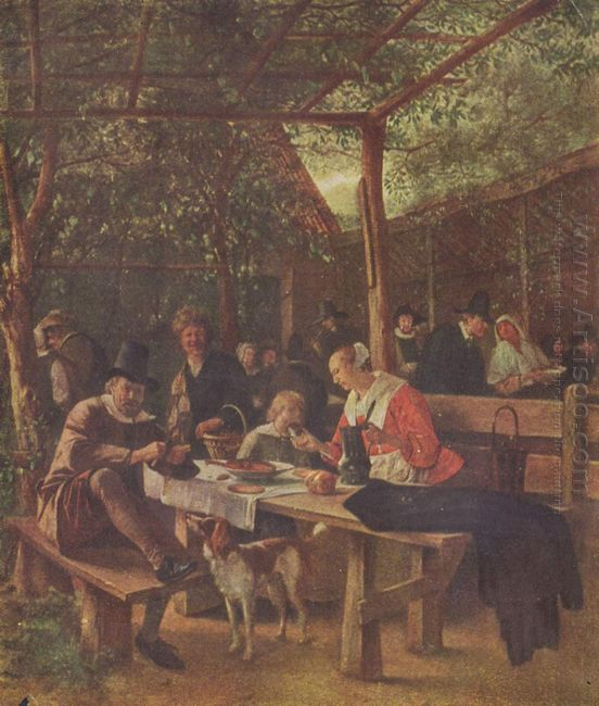 Pub Garden 1663