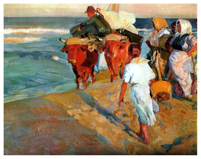 Pulling The Boat 1916