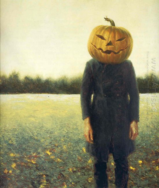 Pumpkinhead Self Portrait 1972
