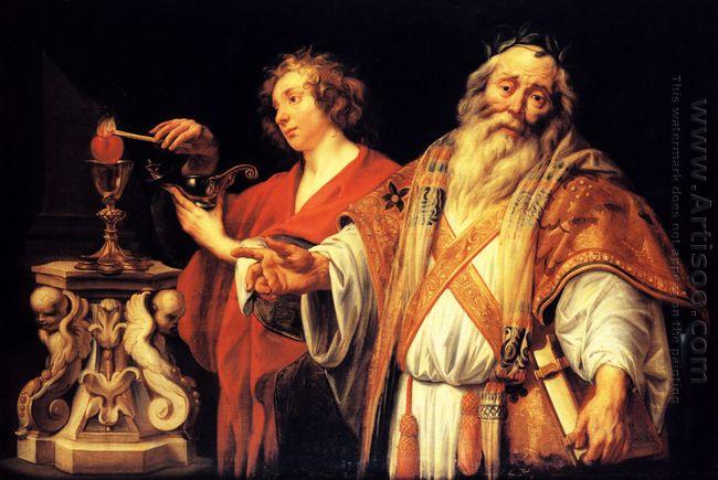 Religious Allegory 1660