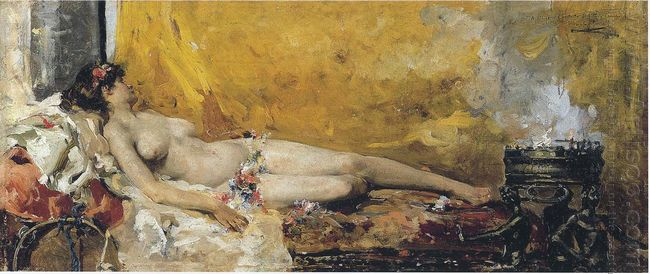 Resting Bacchante 1887