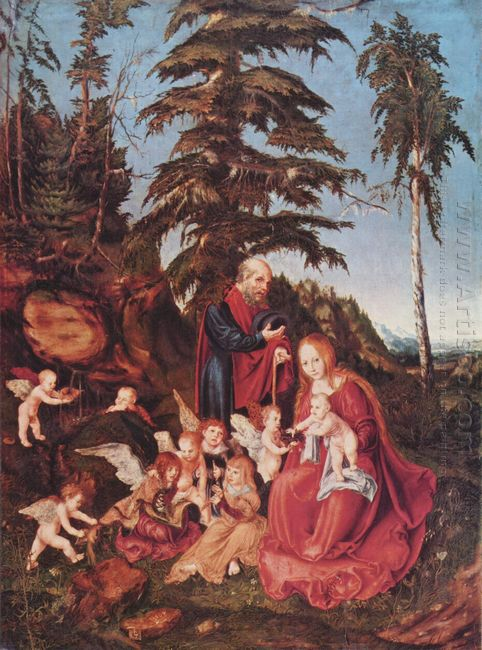 Rest On The Flight Into Egypt 1504