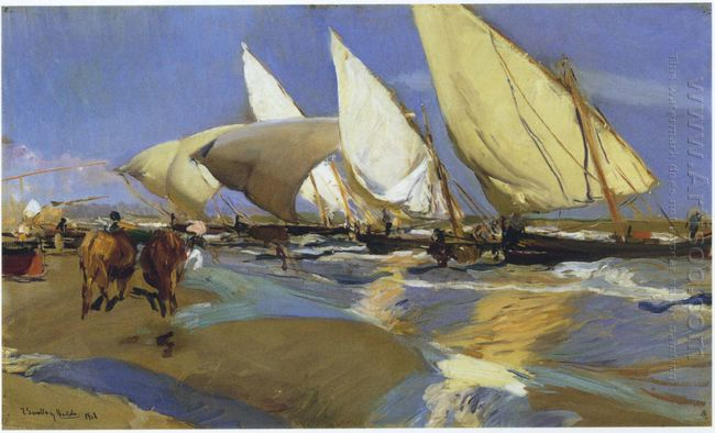Return From Fishing 1908