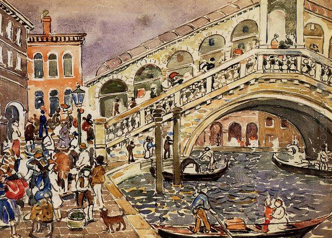 Rialto Bridge Also Known As The Rialto Bridge Venice