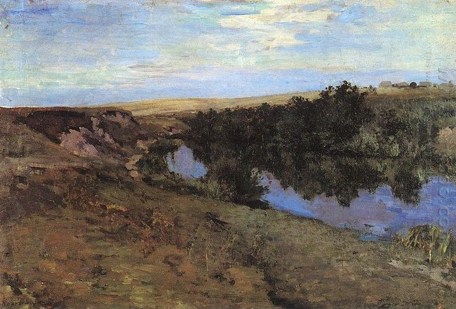 River In Menshov 1885