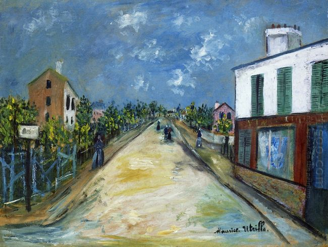 Road In Argenteuil