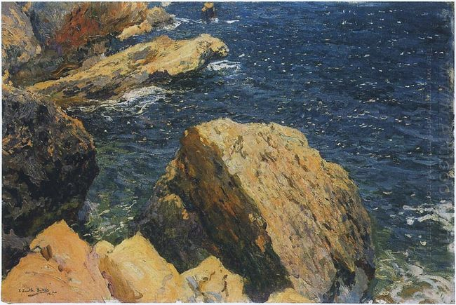 Rocks Of The Cape Javea 1905