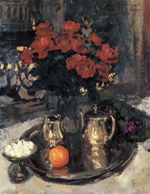 Roses And Violets 1912