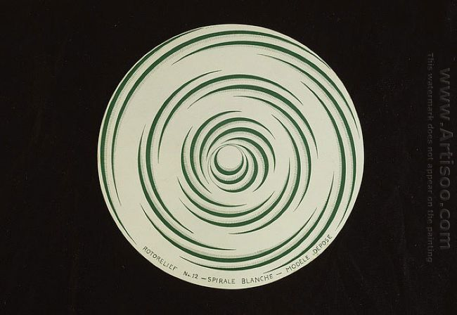 Rotorelief N 11 Total Eclipse Rotorelief N 12 White Spiral 1935