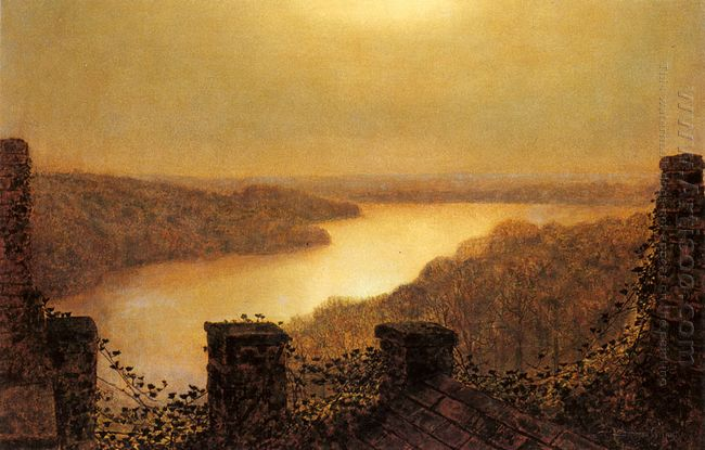 Roundhay Lake From Castle 1893