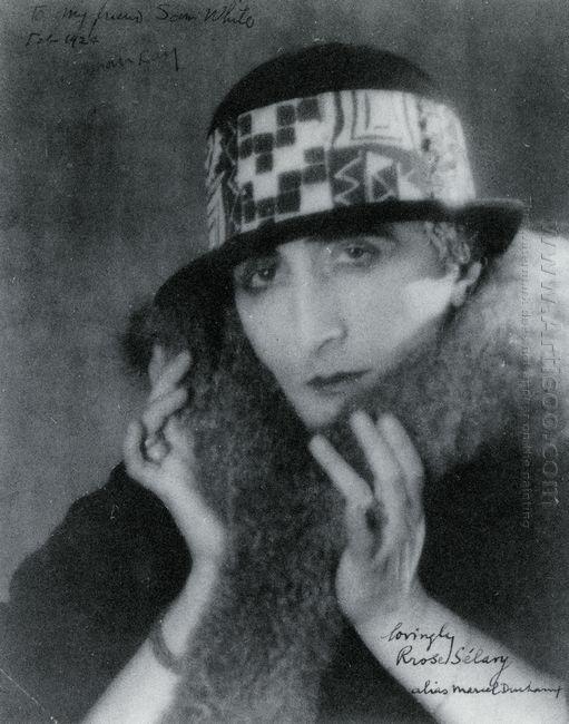 Rrose Selavy Alias Marcel Duchamp 1921